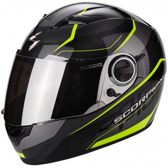 Casque Integral Scorpion Exo 490 Vision Black Neon Yellow