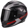Casque Integral Scorpion Exo 510 Air Cross Matt Black Silver Neon Red
