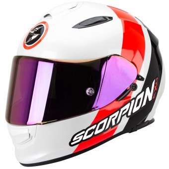Casque Integral Scorpion Exo 510 Air Hero White Neon Red