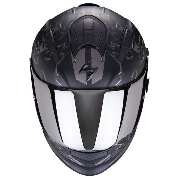 Scorpion Exo 510 Air Likid Noir Mat Vert