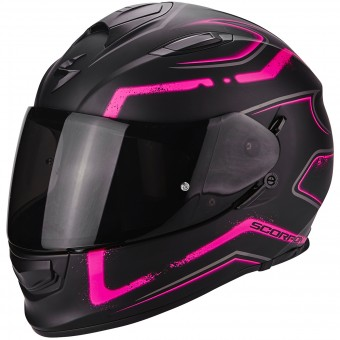 Casque Integral Scorpion Exo 510 Air Radium Matt Black Pink