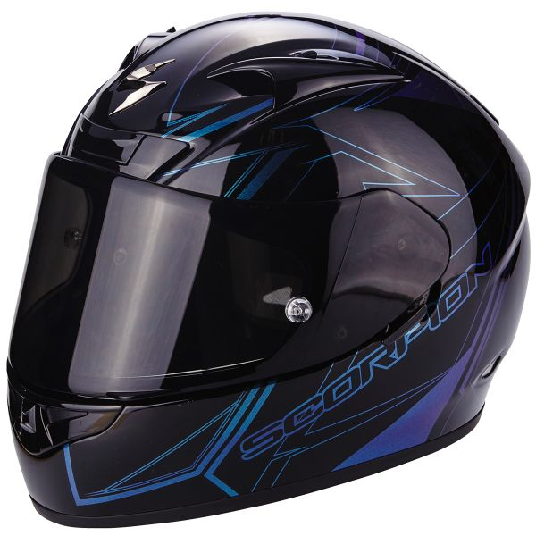 Casque Integral Scorpion EXO 710 Air Line Black Chameleon