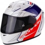 Casque Integral Scorpion EXO 710 Air Line White Red Blue