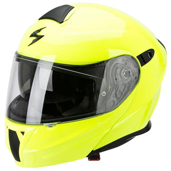 Casque Modulable Scorpion Exo 920 Neon Yellow