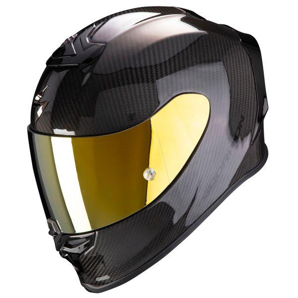 Casque Integral Scorpion Exo R1 Carbon Air Black