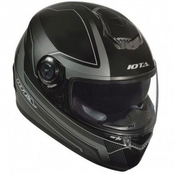 Casque Integral IOTA FP09 Black Matt Titan