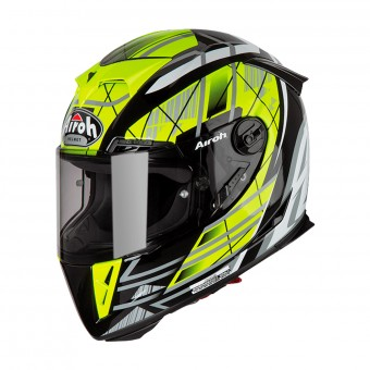 Casque Integral Airoh GP500 Drift Jaune