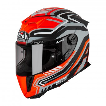 Casque Integral Airoh GP500 Rival Orange Mat