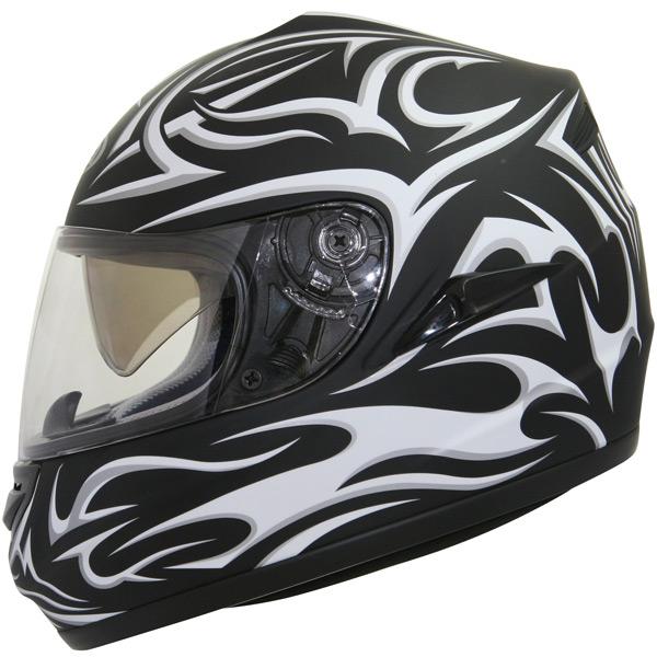 Casque Gpa X7 Ds Assymétric Noir Mat Blanc En Stock Icasquecom