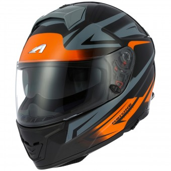 Casque Integral Astone GT 1000F Nash Orange