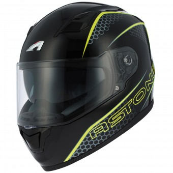 Casque Integral Astone GT 900 Pulse Yellow