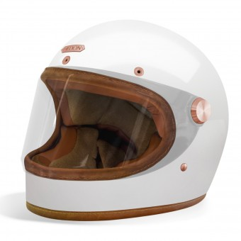 Casque Integral HEDON Heroine Racer Signature White