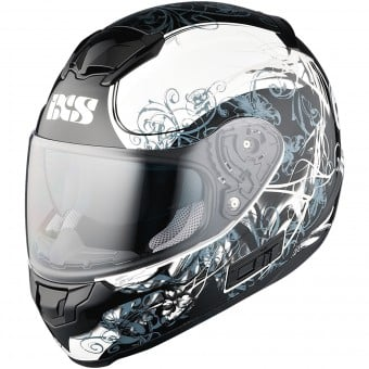 Casque Integral IXS HX 215 Curl White Grey