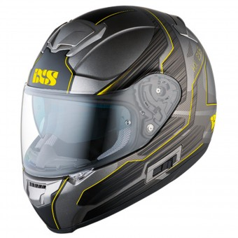 Casque Integral IXS HX 215 Techno Grey Matt