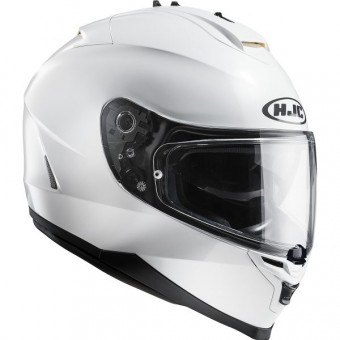 Casque Integral HJC IS17 Metal Blanc