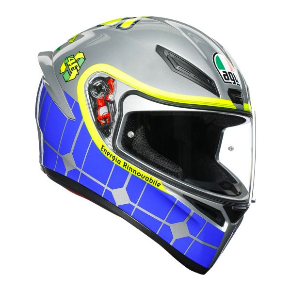 Casque Integral AGV K1 Rossi Mugello 2015