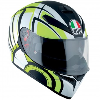 Casque Integral AGV K3 SV Avior Matt White Lime