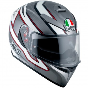 Casque Integral AGV K3 SV Mizar Dark Grey White
