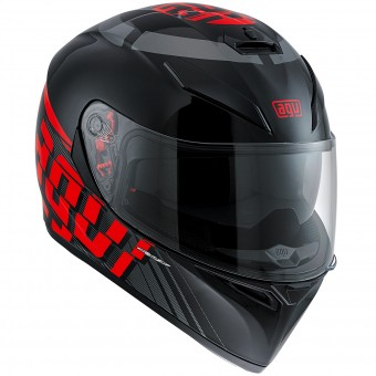 Casque Integral AGV K3 SV Myth Black Grey Red