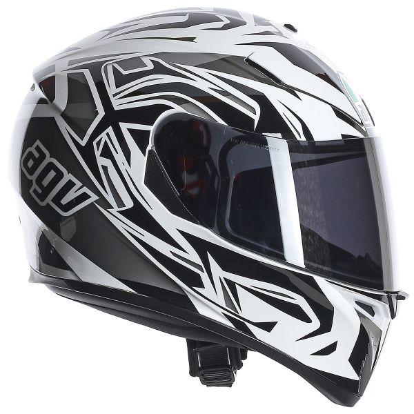AGV K3 SV Rookie White Gunmetal Black