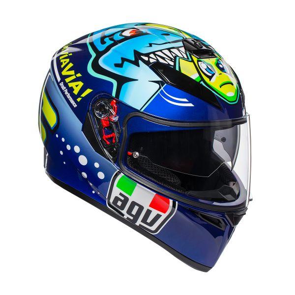 Casque Integral AGV K3 SV Rossi Misano 2015