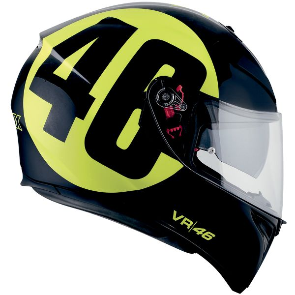 AGV K3 SV Top Bollo 46 Black Yellow