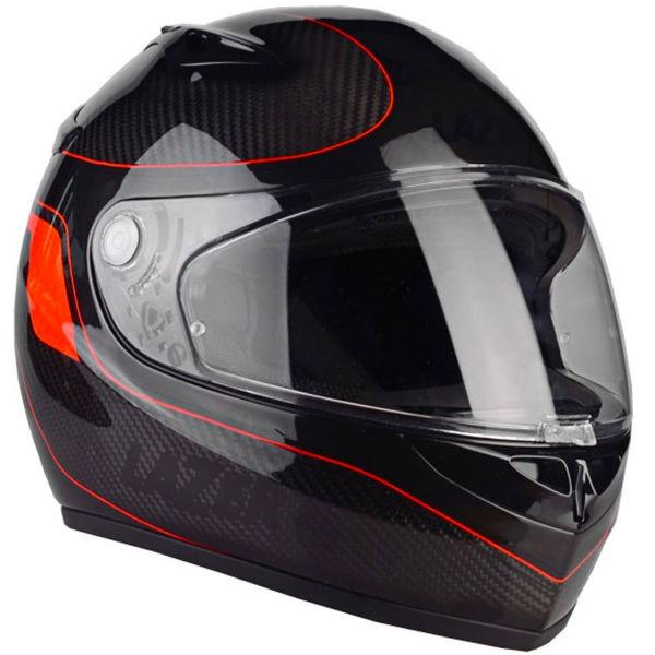Casque Integral Lazer Kestrel Carbon Light Signature