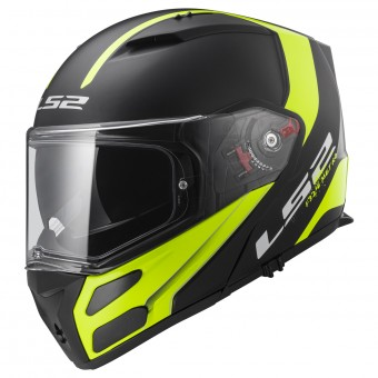 Casque Modulable LS2 Metro Evo Solid H-V Yellow FF324