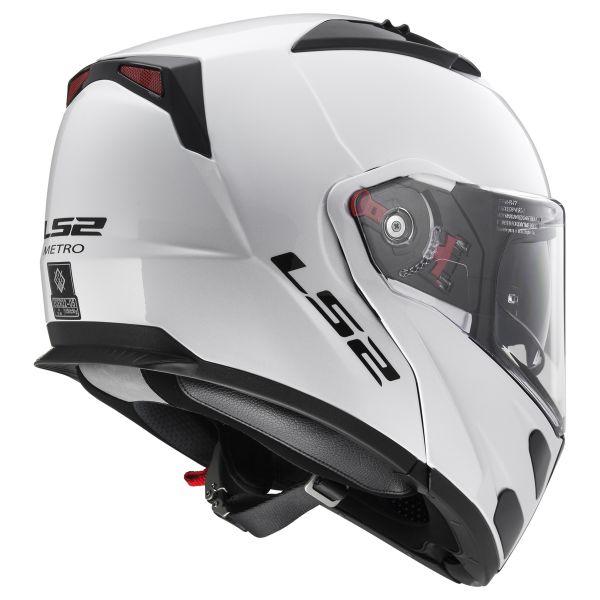 LS2 Metro Evo Solid White FF324