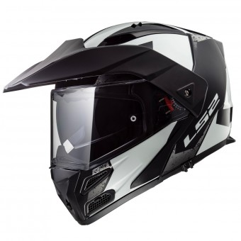 Casque Modulable LS2 Metro Evo Sub Black Light FF324