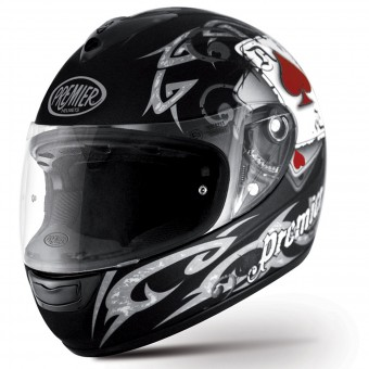 Casque Integral Premier Monza J8Pitt Black Matt