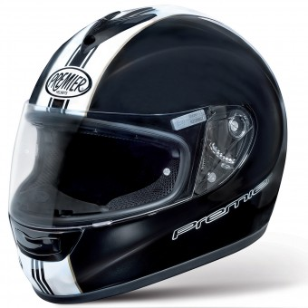 Casque Integral Premier Monza T9 Black White