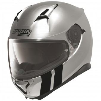 Casque Integral Nolan N87 Martz N-Com Scratched Chrome 28