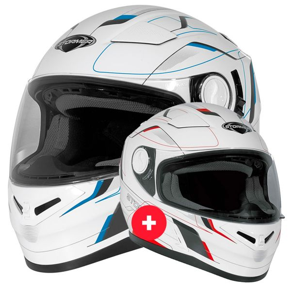 Casque Integral Stormer Pack Duo Casques Indus Speed