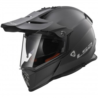 Casque Integral LS2 Pioneer Matt Titanium MX436