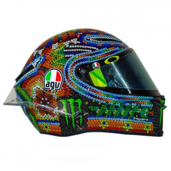 Casque Integral AGV Pista GP R Rossi Winter Test 2018