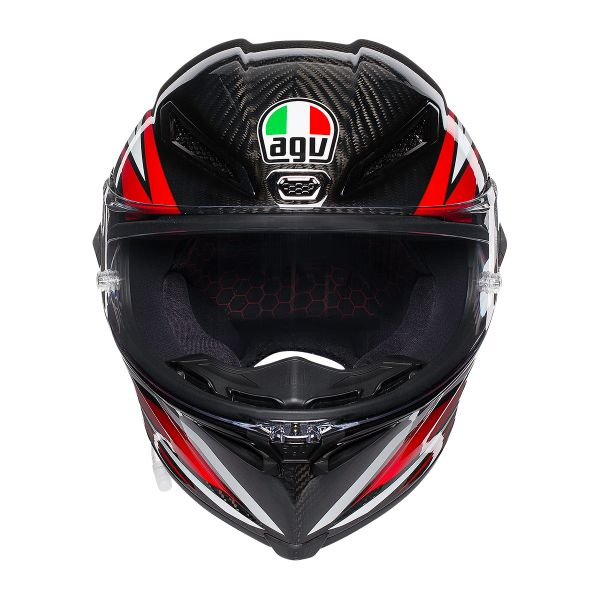 AGV Pista GP R Staccata Carbon Rouge