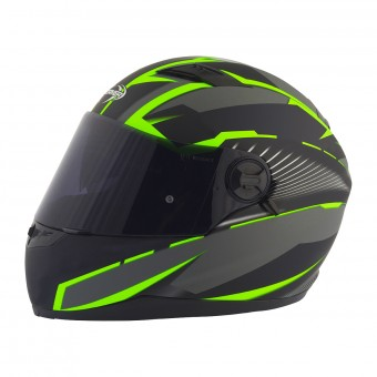 Casque Integral Stormer Pusher Xenon Vert Mat
