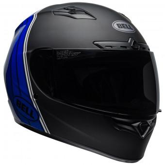 Casque Integral Bell Qualifier Dlx Mips Illusion Black Blue White