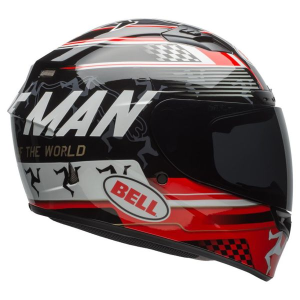 Bell Qualifier Dlx Mips Isle Of Man Black Red