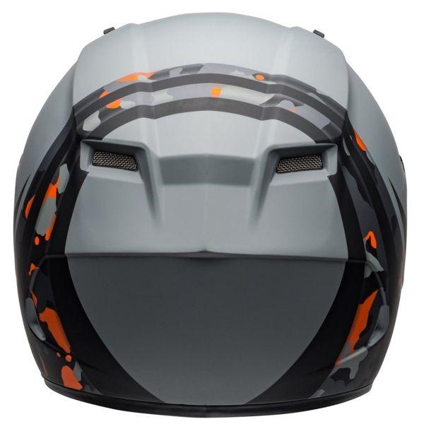 Bell Qualifier Integrity Camo Titanium Orange