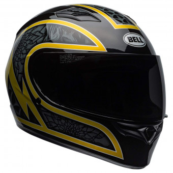 Casque Integral Bell Qualifier Scorch Black Gold Flake