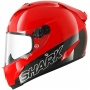 Casque Integral Shark Race-R PRO Carbon Blank RED