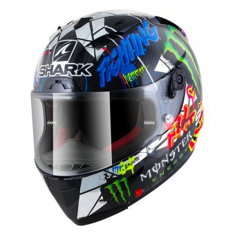 Casque Integral Shark Race-R Pro Carbon Replica Lorenzo Catalunya GP DUG