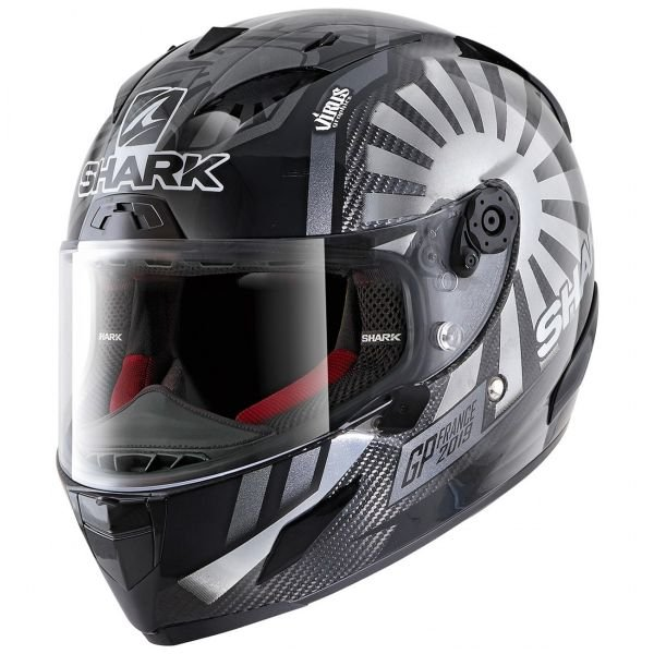 Casque Integral Shark Race-R Pro Carbon Replica Zarco GP France 2019 DUA