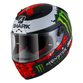 Casque Integral Shark Race-R Pro Replica Lorenzo Monster 2018 Mat KRG