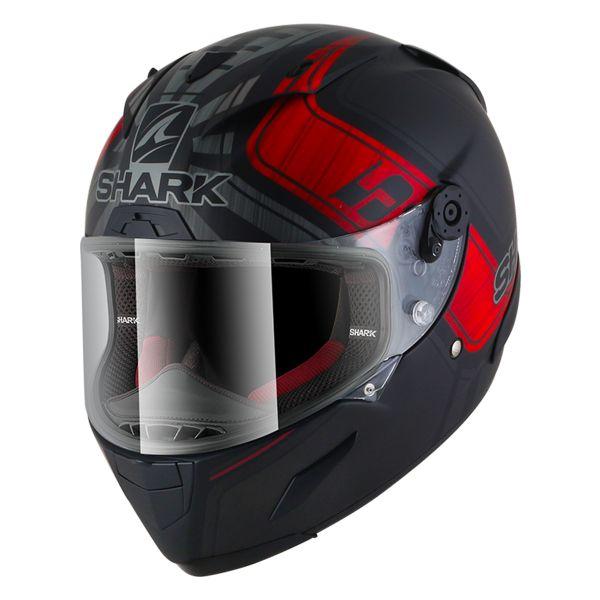 Casque Integral Shark Race-R Pro Replica Zarco GP De France Mat KAR