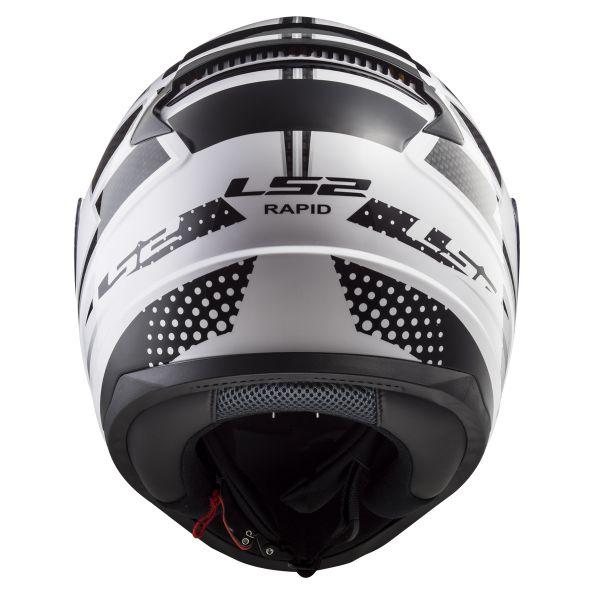 LS2 Rapid Carborace White Black FF353
