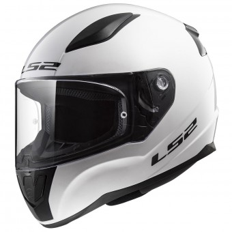 Casque Integral LS2 Rapid Solid White FF353