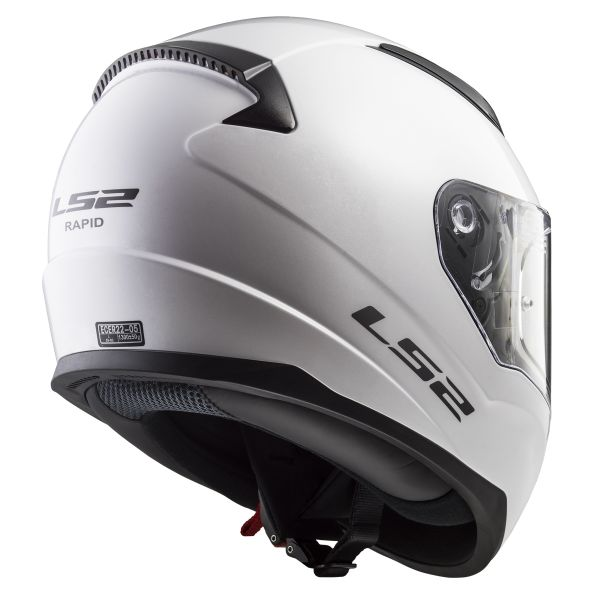 LS2 Rapid Solid White FF353